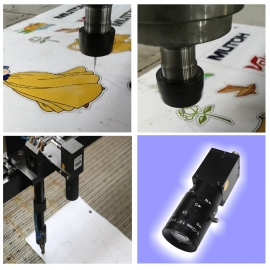 Mark Point Positioning and Cutting System